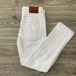 ONE TEASPOON Awesome Baggies Jeans White 26